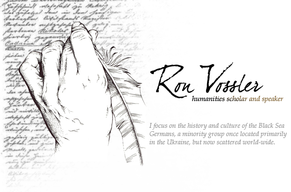 Ron Vossler | Humanities scholar and speaker